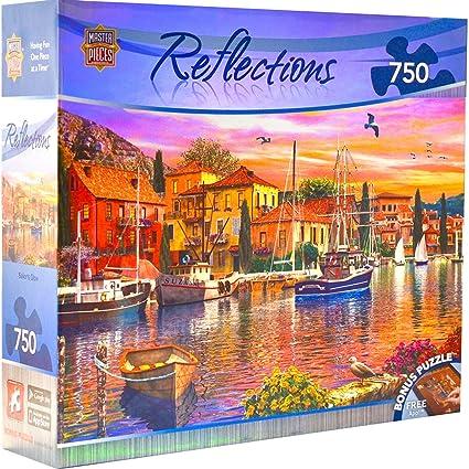 MasterPieces Reflections Foil Collection Sailors Glow Jigsaw Puzzle, 750-Piece