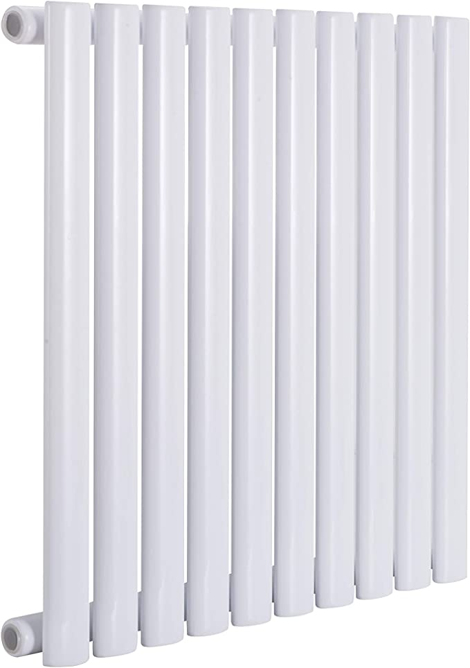 Betop-camp 600 x 600 mm Wei/ß Urban Horizontal Radiator Single Flat Panel Badezimmer-Zentralheizung