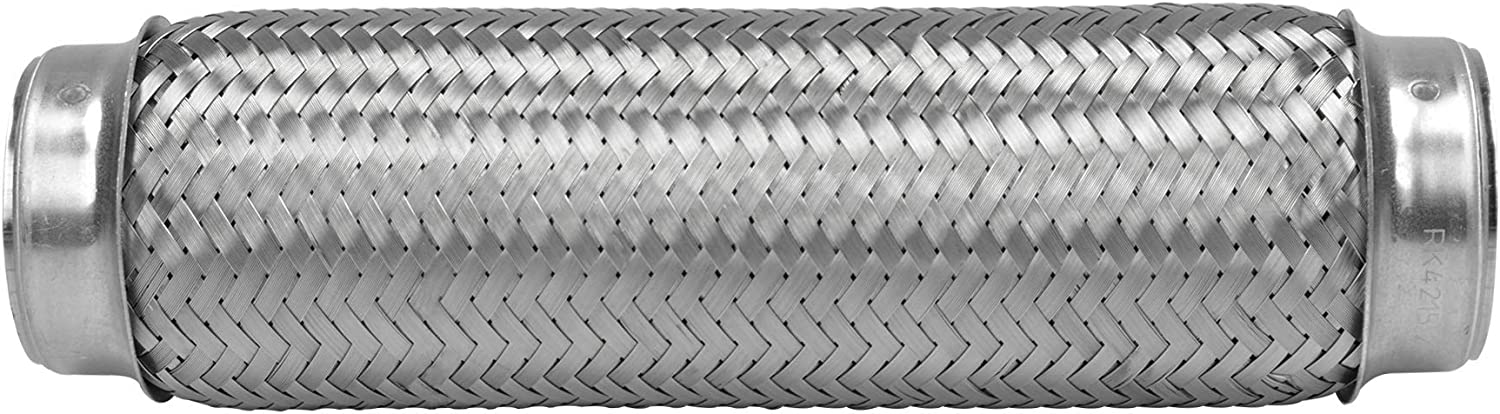 RK7515-2.5 x 4 Heavy Duty Stainless Steel Exhaust Flex Pipe RP Remarkable Power