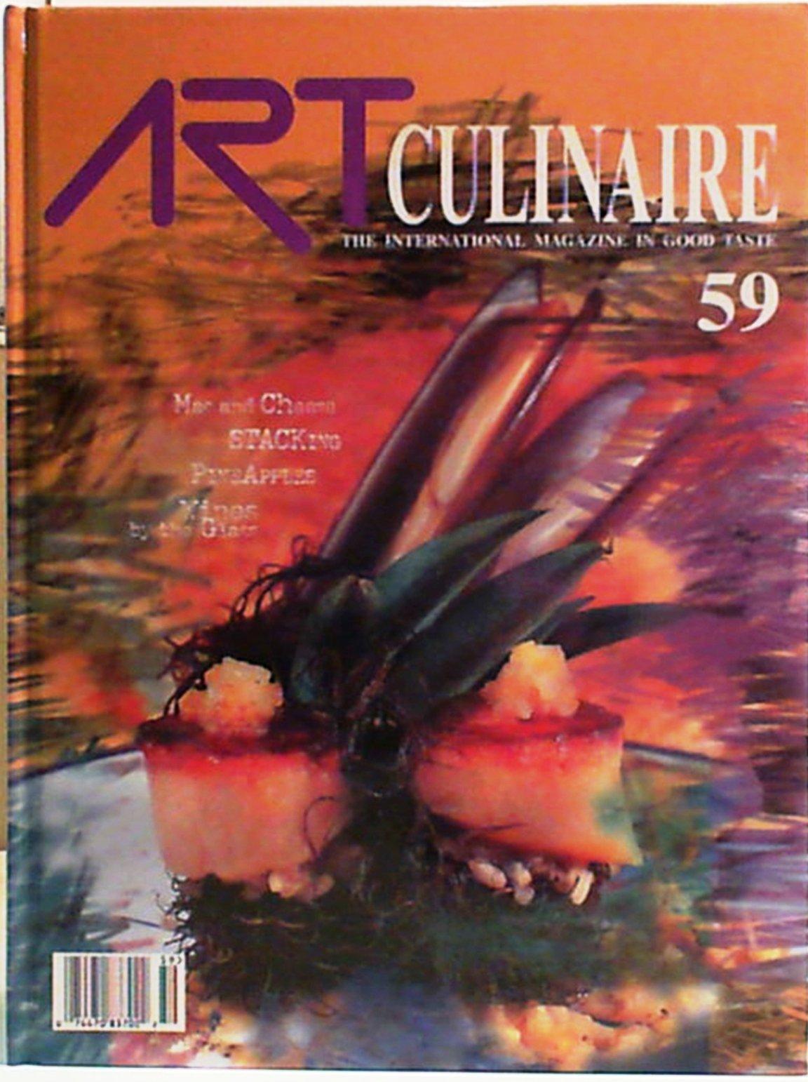 Read Online Art Culinaire 59: the International Magazine in Good Taste Winter 2000-2001) PDF