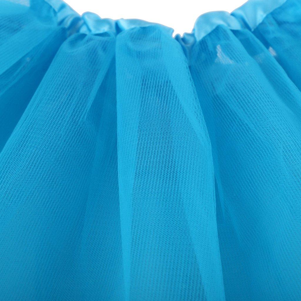 MIOIM Kids Baby Girl Tulle Tutu Skirt Party Dress up Costume Ballet Dancewear