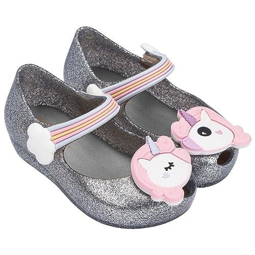 f554dcc1d0d3 Melissa Girls Mini Ultragirl Unicorn Mary Jane Flat  Amazon.co.uk  Shoes    Bags