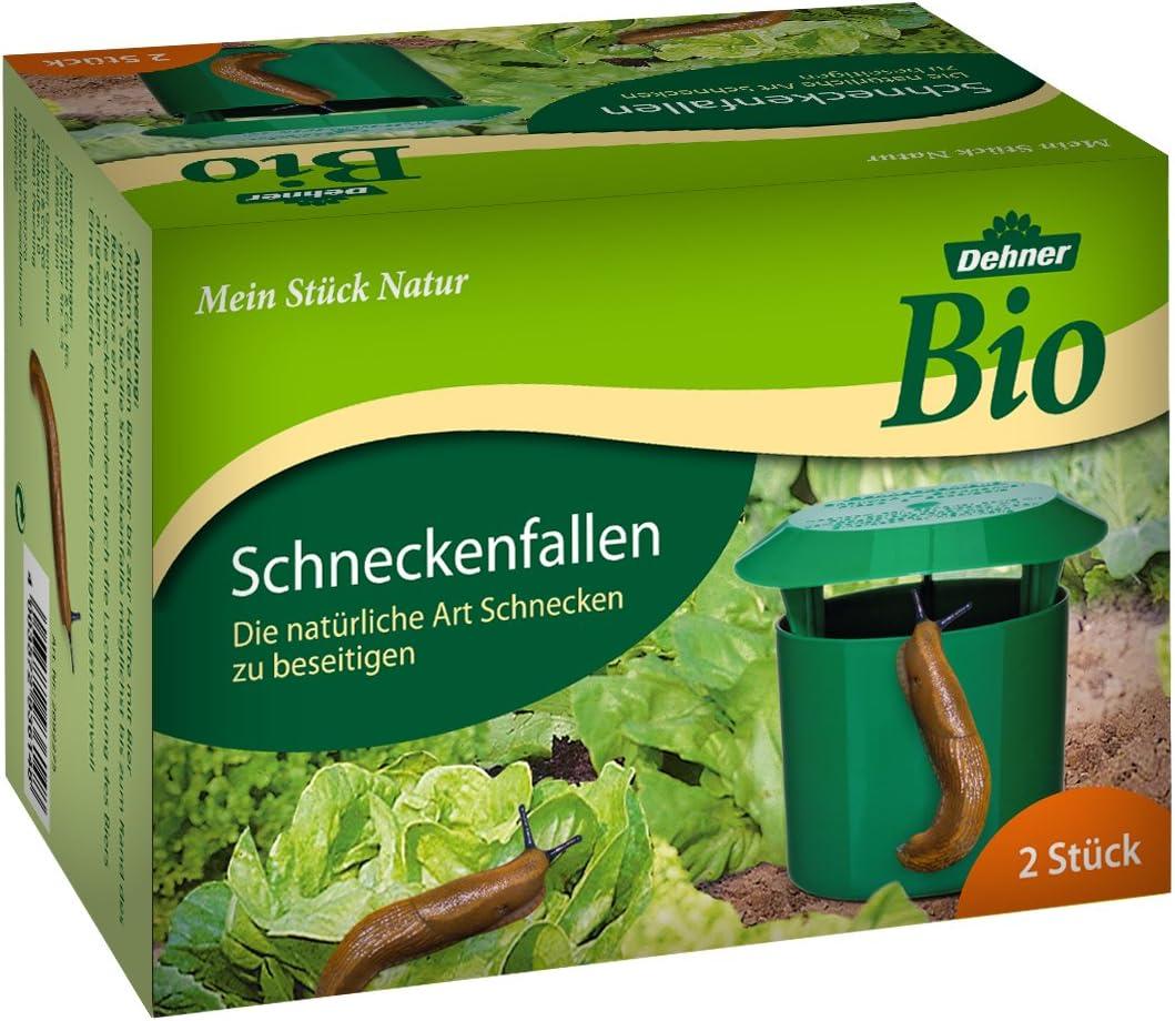Schneckenfallen 2er-Set Schneckenbekämpfung Schneckenfalle Schnecken Abwehr