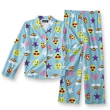 ffee13555991 Amazon.com  Joe Boxer Girls  Flannel Pajamas Top and Pants Sleepwear ...