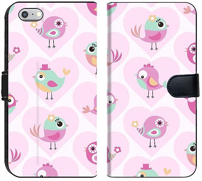 Luxlady IPhone 6 Plus 6s Flip Fabric Wallet Case ID 43579065 Seamless Cute