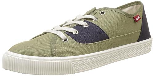 Levis Malibu, Zapatillas para Hombre, Verde (Dark Green), ...