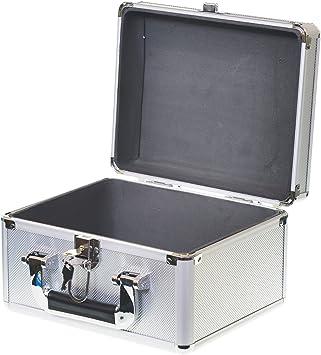 Generic - Caja de Herramientas (Acolchada, 25 cm, Aluminio, 25 x 20 x 15 cm, Incluye Caja de Herramientas): Amazon.es: Electrónica