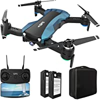 Hukkkyvit Foldable GPS Drone with Camera and Carrying Backpack