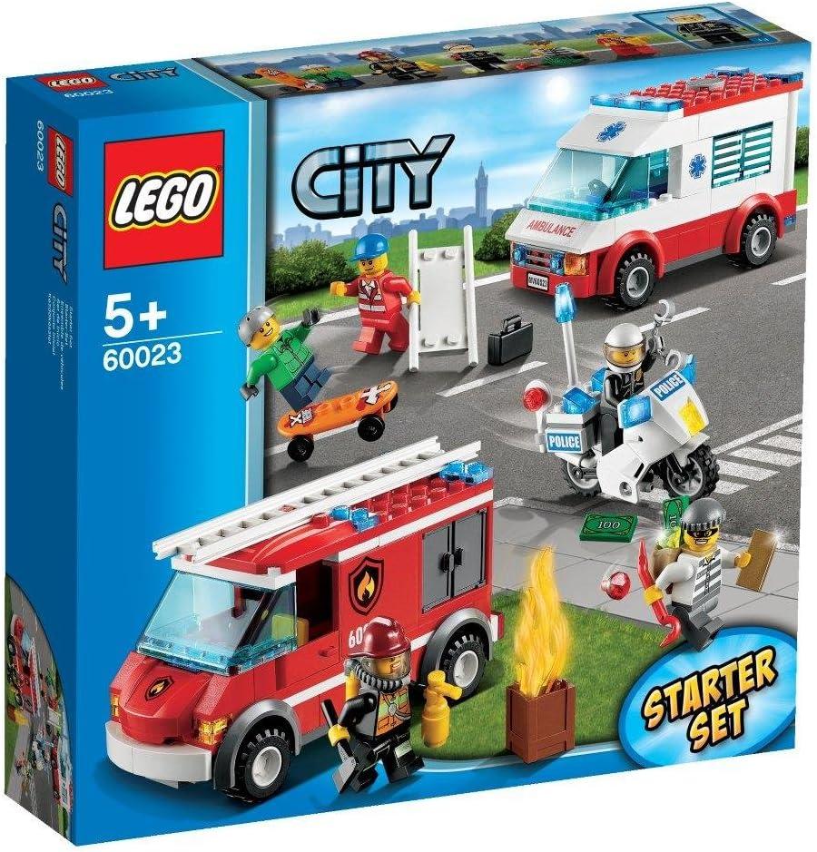 LEGO City - En la Ciudad: Set de Inicio (60023): Amazon.es: Juguetes y juegos