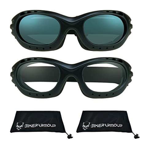0b3d484bfce0 Amazon.com  Motorcycle Goggles for Men and Women. Available From ...