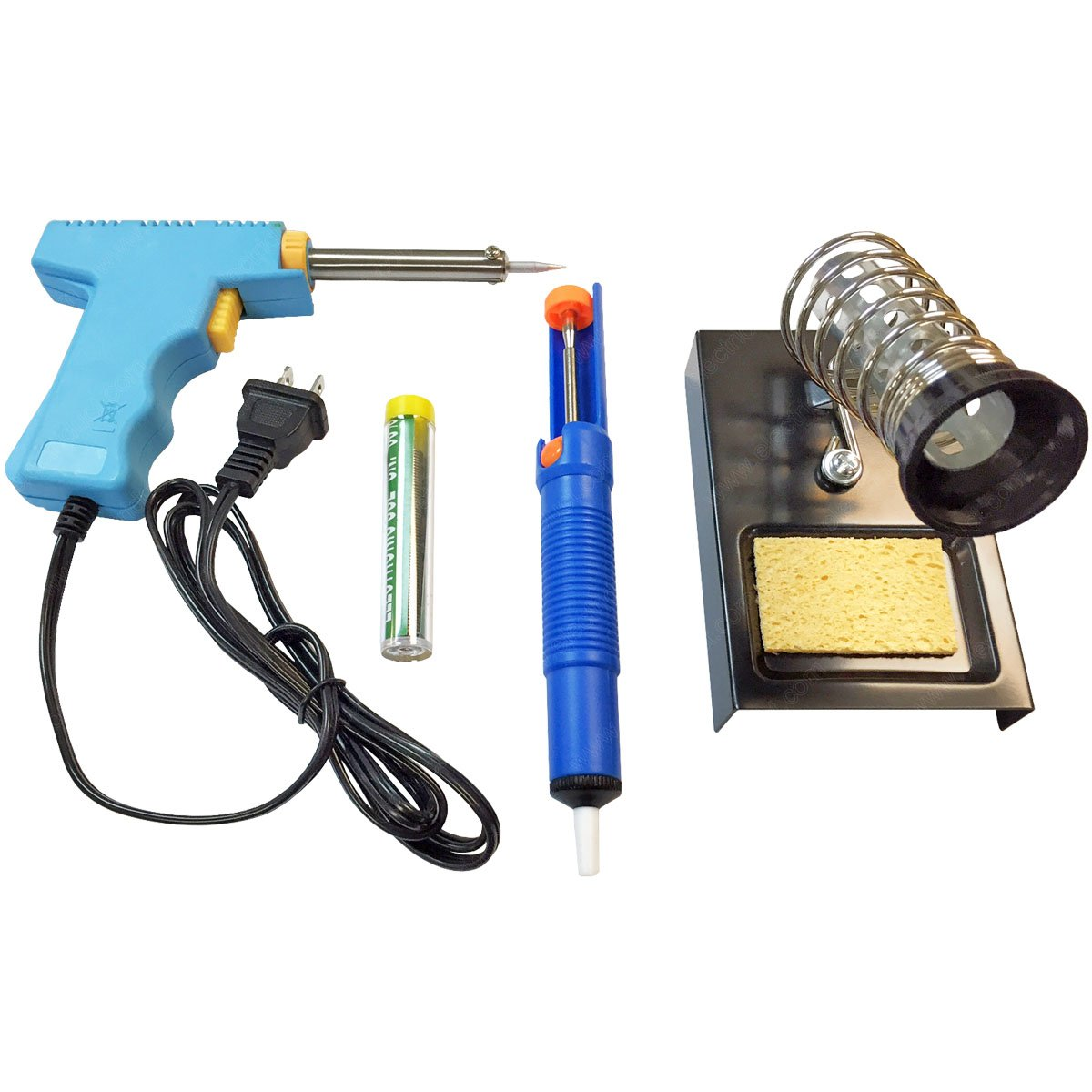 Helping Hand Magnifying Glass with LED Lights and Soldering Stand (TL-ZS-STAND-10MB) Electriduct