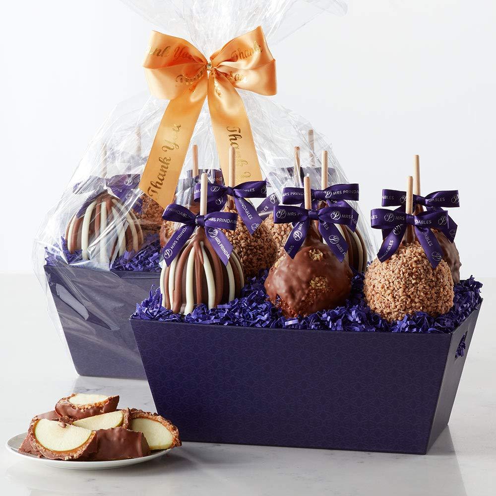 Thank You Petite Apple Gift Bandeja: Amazon.com: Grocery ...