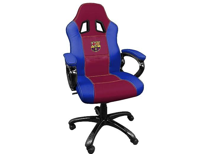 FCB FC Barcelona Silla gaming - Sillón gamer de oficina ...