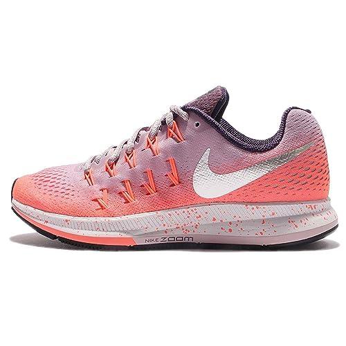 Nike 849567-500, Zapatillas de Trail Running para Mujer, (Plum Fog/Metallic Silver/Bright Mango), 36 EU: Amazon.es: Zapatos y complementos