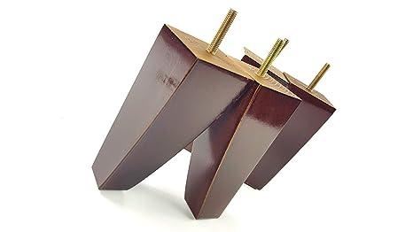 Knightsbrandnu u gambe mobili piedi di ricambio in legno