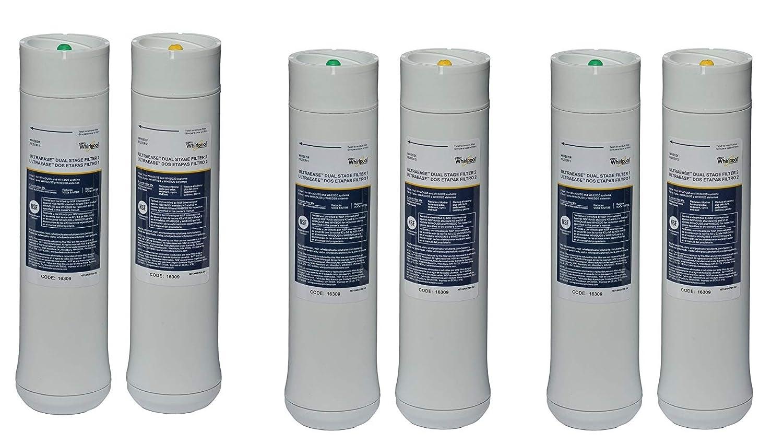 Whirlpool WHEEDF UltraEase Undersink Filter WHED20 | 3 Pack