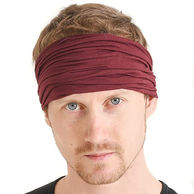 CHARM Casualbox mens Head cover Band Bandana Stretch Hair Style Japanese 50ad72761b4