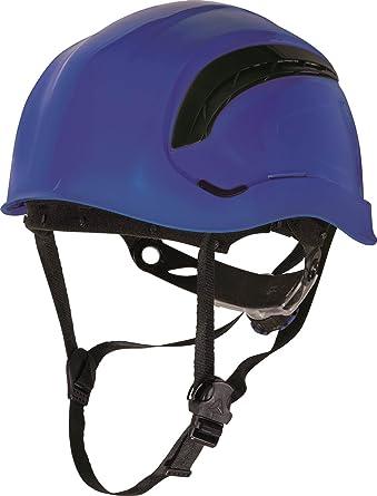 Delta plus Granito Wind Casco de protección Mens trabajo cabeza - Protector de cabeza de sombrero azul: Amazon.es: Ropa y accesorios