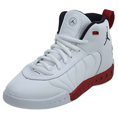 Jordan Jumpman Pro White/Black-Gym Red (Little Kid) (11.5 M