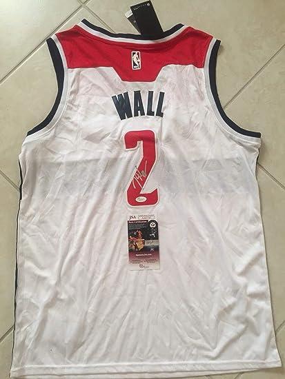 half off b6063 68789 John Wall Autographed Signed Washington Wizards Jersey - JSA ...
