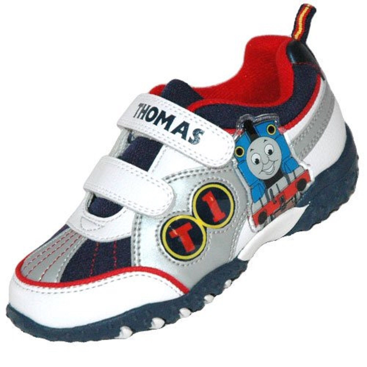 Thomas the Tank Engine Childrens Light Up Trainers 8 UK Infant