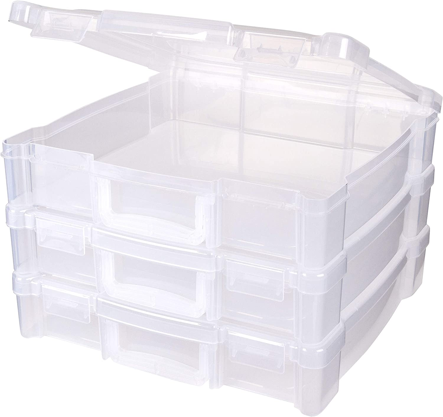 ArtBin Storage Box with Handle, 3 Pack