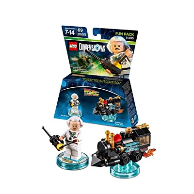 Back to the Future Doc Brown Fun Pack - LEGO Dimensions: V Ld Btf Fun Pk W/Doc Brown: Video Games