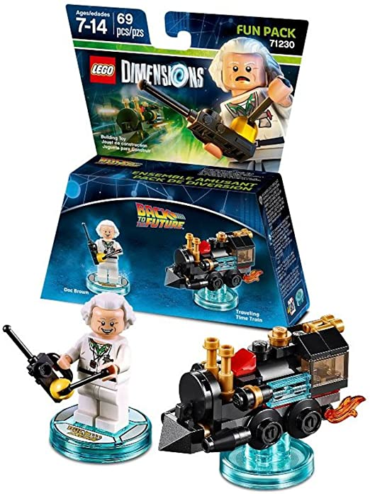 Back to the Future Doc Brown Fun Pack - LEGO Dimensions by Warner ...