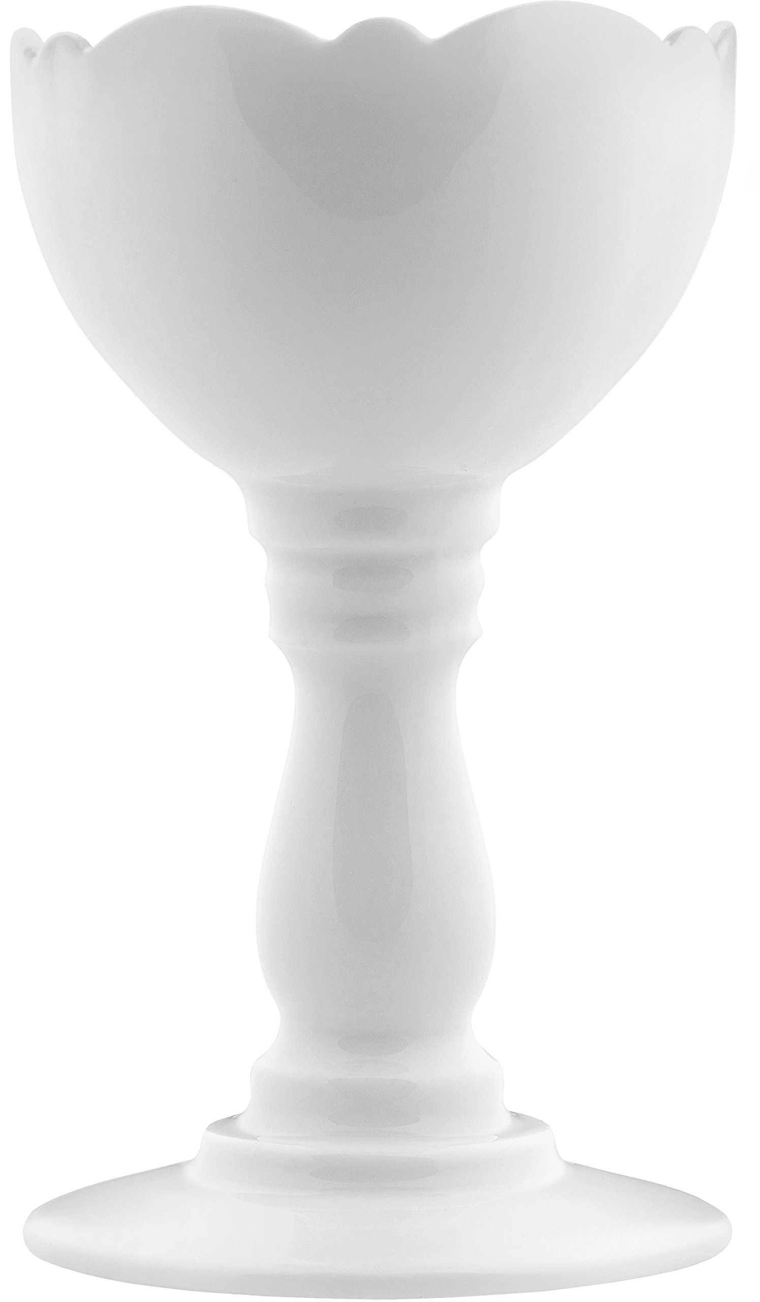 Alessi''Dressed'' Egg Cup in Porcelain, White
