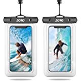 JOTO Floating Waterproof Phone Pouch, Universal Waterproof Case Underwater Dry Bag for iPhone 11 Pro Max XS Max XR X 8 7…