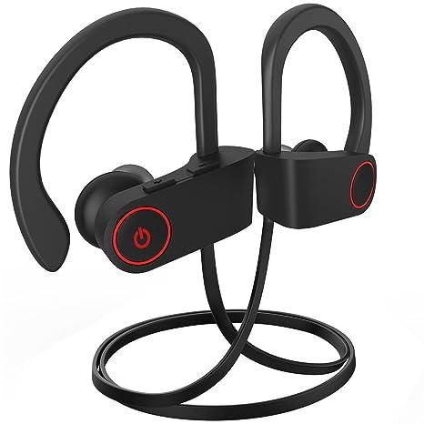 Auricular Bluetooth, Bluetooth In-Ear Mejor auricular inalámbrico deportivo w / Micrófono IPX7 Impermeable
