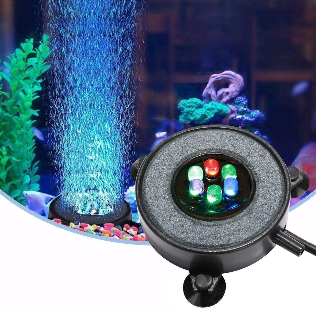 LED Aquarium Air Bubble Aquarium Light Multi-Color-Diving torch 3 SIZE BEST