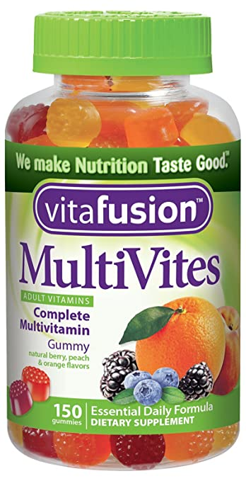 Vitafusion Multi-vite, Gummy Vitamins For Adults, 150-Count