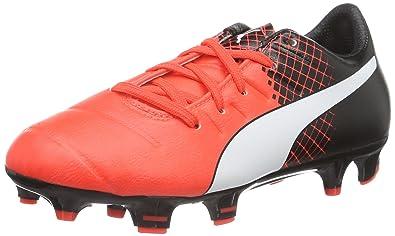 5d6a660a0ba Puma evoPower 3.3 FG Jr F6, Unisex Kids' Football Training: Amazon ...