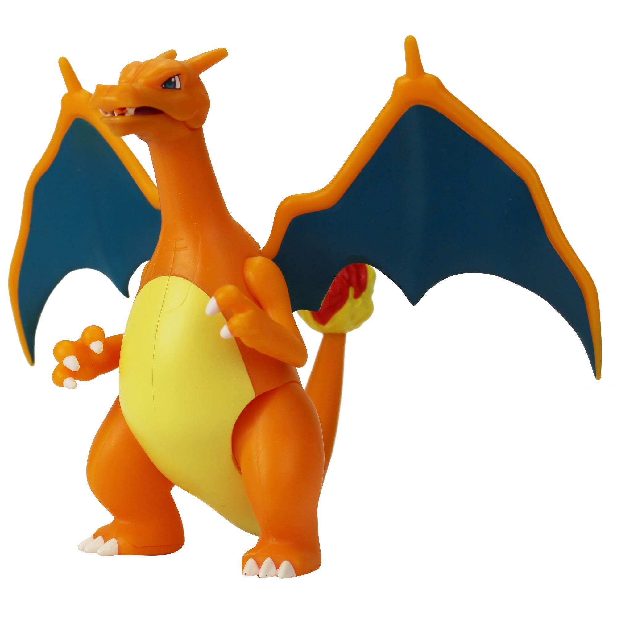 PoKéMoN 95132 Pokemon 4.5 Inch Battle Feature Figure-Charizard