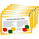 Learning Advantage 7222 Color Cube Activity Cards (Pack of 34)