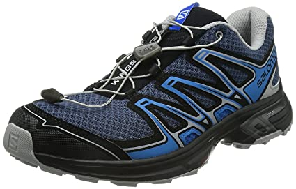 quality design 4fa29 540ed Salomon Men s Wings Flyte 2 Trail Running Shoes 8 UK (Blue)