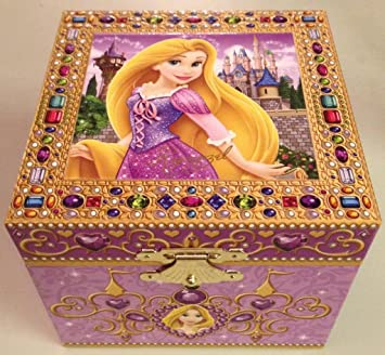 Tangled Rapunzel Musical Jewelry Box Disney Parks Exclusive