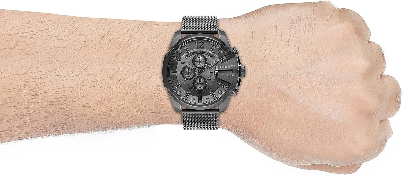 Reloj Diesel DZ4527 Mega Chief para Caballero: Amazon.com.mx: Relojes
