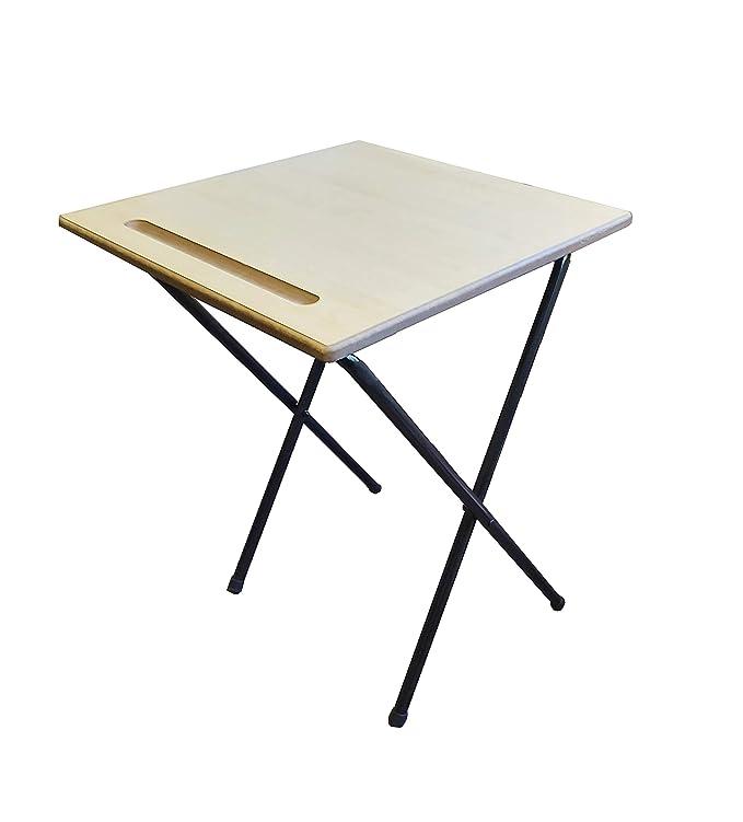 Mesa de escritorio plegable de Exam para estudio de clase, escuela ...