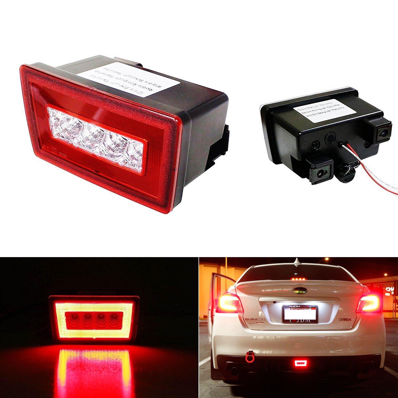 Amazon iJDMTOY Red Lens 3In1 LED Rear Fog Light Assembly – Xv Crosstrek Wire Harness