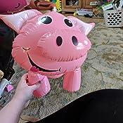 Amazon.com: Hinchable Cerdos – Conjunto de 3 de cerdo ...
