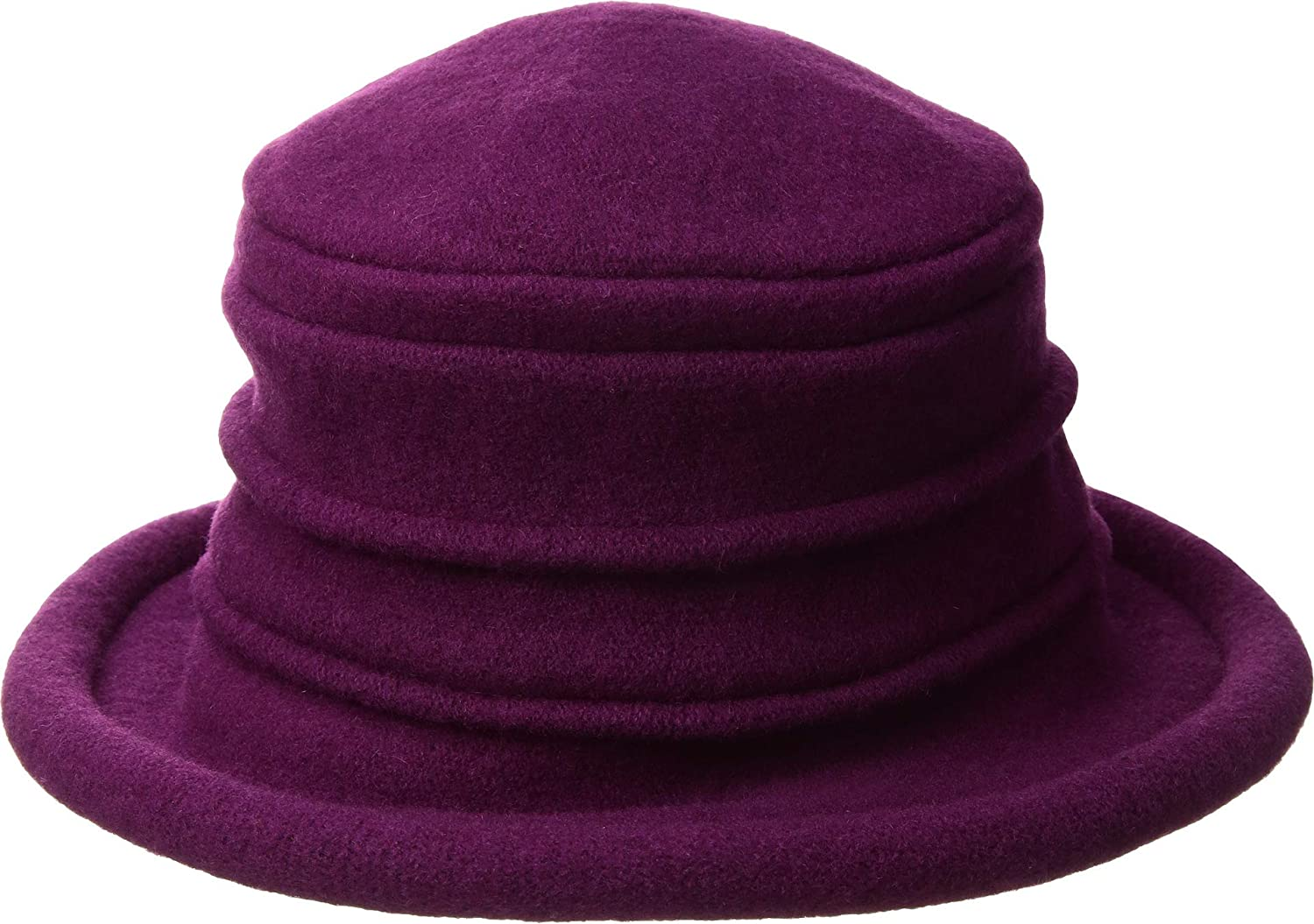 200b96334b9 Scala collezione womens packable wool cloche hat fuchsia os at amazon  womens clothing store jpg 1500x1055