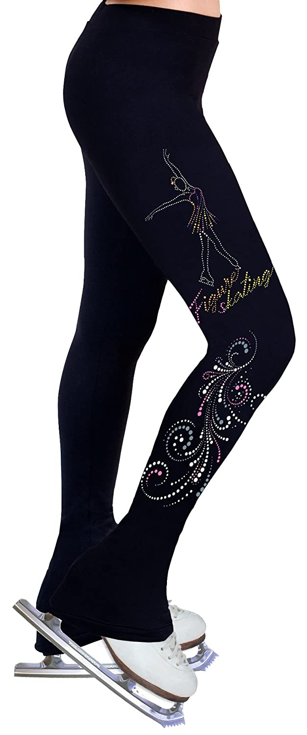Ny2 Sportswear Figure Skating Practice Pants with Spangles S104A