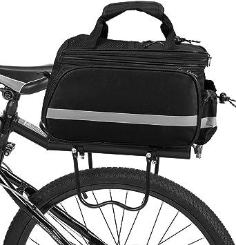 Lixada Alforja Bicicleta Bolsa de Sillín Ciclismo Tronco Pack ...
