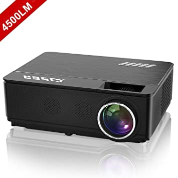 videoproyector, yaber 4000 Lumen LED Proyector HD, soporte 1080p ...