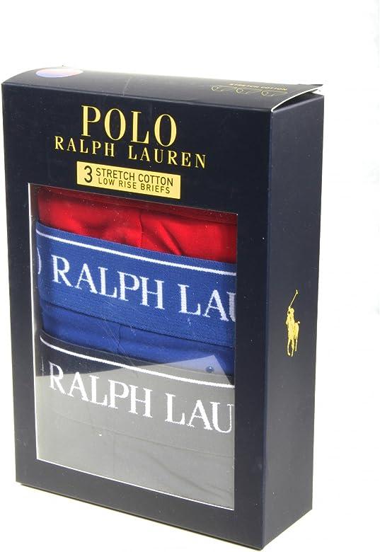 Polo Ralph Lauren Calzoncillos para Hombres Paquete de 3, algodón ...