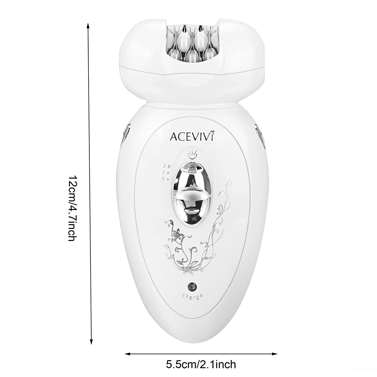 PHILIPS satinshave Prestige Wet /& Dry ELETTRICO LADY SHAVER con 5 accessori.
