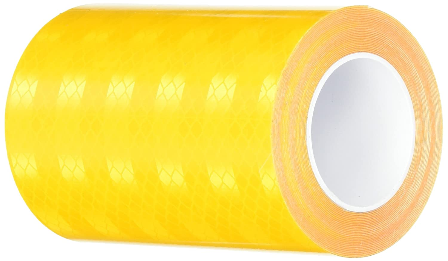 "3M 3431 Yellow Micro Prismatic Sheeting Reflective Tape, 2"" x 5 yd (1 Roll)"