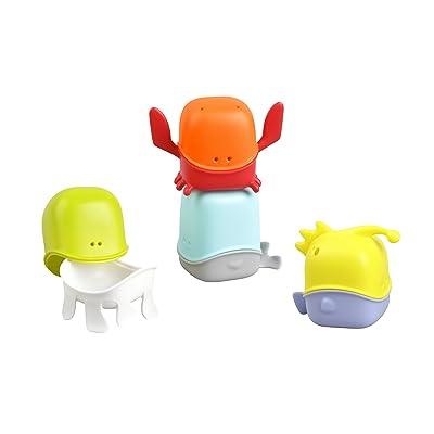 Boon Creatures Interchangeable Bath Toy Cup Set : Bathtub Toys : Baby
